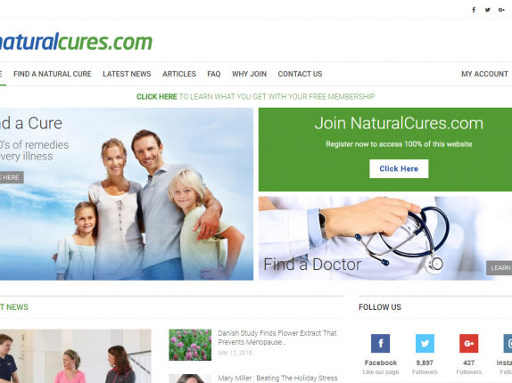 natural cures seo